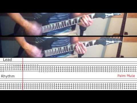 How To Play 'Ocean Avenue' by Yellowcard (With On Screen Tabs!) - Guitar Tutorial
