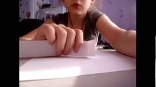 Видео урок как сделать книжку для кукол.