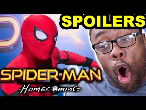 SPIDER-MAN HOMECOMING SPOILERS REVIEW [Black Nerd]