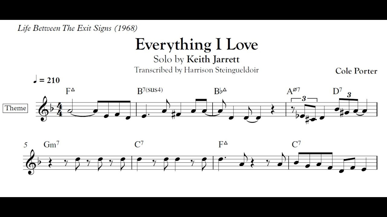 love foolosophy bass transcription pdf