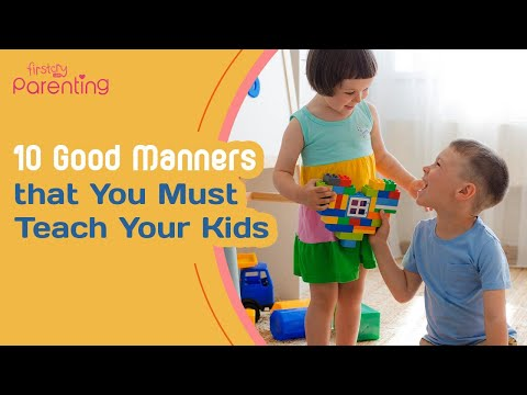 Teaching Children Good Etiquette and Manners