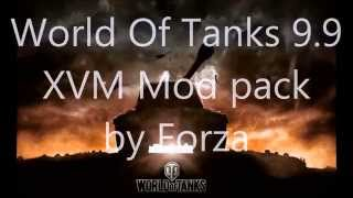 World Of Tanks 9.9 XVM Full by Forza