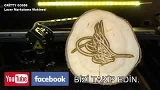 Ağac'a Lazer Kazıma Makinesi / Gritty G3050 Lazer markalama