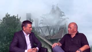 Brand in Weissach im Tal - Bürgermeister Ian Schölzel im Exclusiv-Interview