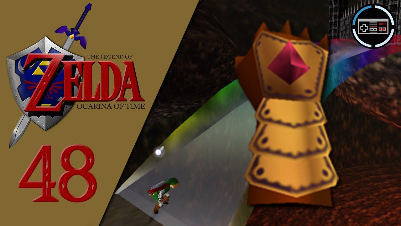 Let's Play The Legend of Zelda Ocarina of Time #48 - Golden Gauntlets &  Defense Spell