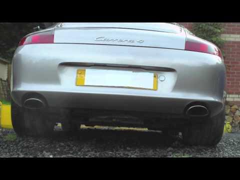 Porsche 911 996 with Dansk Exhaust - Start-up