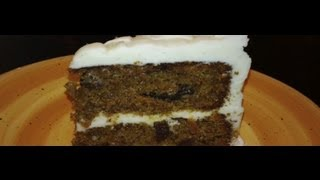 Yummy Carrot Cake With Cream Cheese Frosting