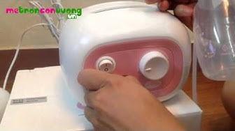 Hướng dẫn sử dụng máy hút sữa bằng điện Unimom cho mẹ