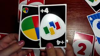 Игра Uno (Уно) - НОВЫЕ ПРАВИЛА