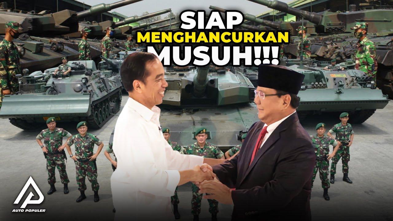 Bikin Negara Lain Segan, Transformasi Kendaraan Militer Angkatan Darat Indonesia Makin Canggih