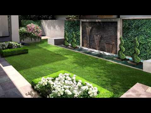 Giardino Mediterraneo Con Piscina 45 Youtube