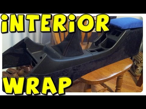 DIY | Alcantara Wrapping Interior | 2004 WRX