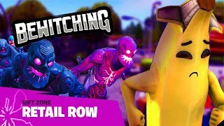 Fortnite - New Update! Zombies are back.. in Retail Row!