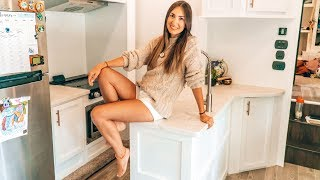 Tiny House Kitchen | Cooking For A Family Of Four | Minimalism Lifestyle In 360 Square Feet