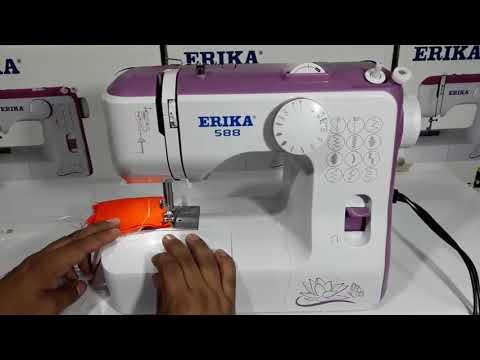Aprende como usar tu maquina de coser Erika - YouTube