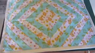 Fazendo tapete de retalhos