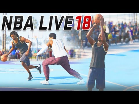 3718313f5044f1 NBA LIVE 18 The One Career Mode Ep 3 - SHOOTING LIKE STEPHEN CURRY IN THE