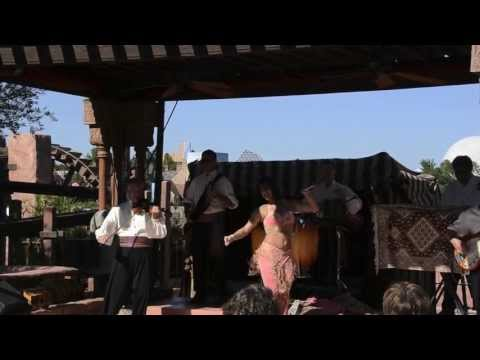 Moroccan Belly Dancer in Epcot in 1080p HD