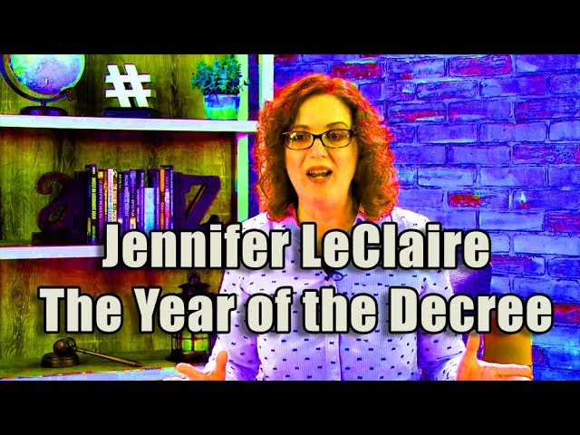 F4F | Jennifer LeClaire The Year of the Decree