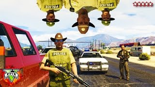 HikePlays GTA 5 SUPER TROOPERS! - GTA 5 PC Police MOD - GTA 5 Funny Moments