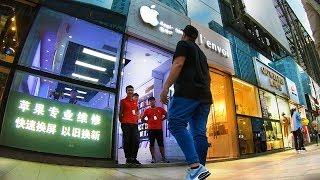 LOJA APPLE FALSA na CHINA aberta ao público