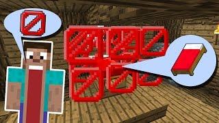 КРОВАТЬ ЗАКРЫТА НЕВИДИМЫМИ БЛОКАМИ! ЕЁ НЕВОЗМОЖНО СЛОМАТЬ! - (Minecraft Bed Wars)