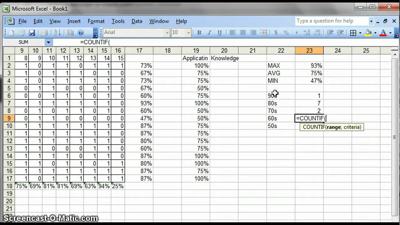 data analysis for teachers using excel part 2 youtube. Black Bedroom Furniture Sets. Home Design Ideas