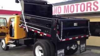 2000 International 4900 Dump Truck