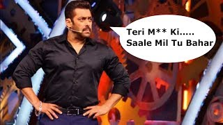 Salman Khan Angry at Contestants in Weekend Ka Vaar