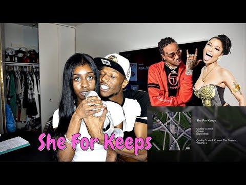 Quavo & Nicki Minaj - She For Keeps REACTION!