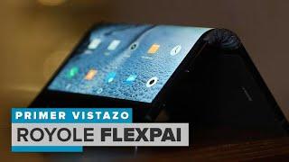 Royo FlexPai: el primer celular plegable del mundo