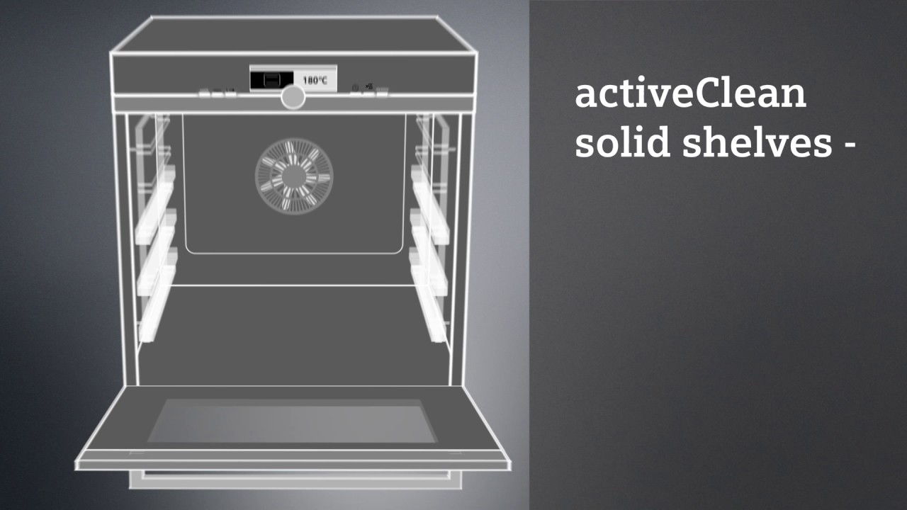 Four Siemens Avec Systeme De Nettoyage Activeclean Solidshelves