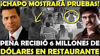 ¡CITARAN A PEÑA EN JUICIO DEL CHAPO! LE EVIDENCIAN SOBORNOS EN RESTAURANTE - ESTADISTICA POLITICA