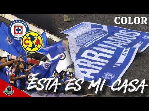 Color Cruz Azul vs América (0-0) | El verdadero dueño del Azteca | Apertura 2018
