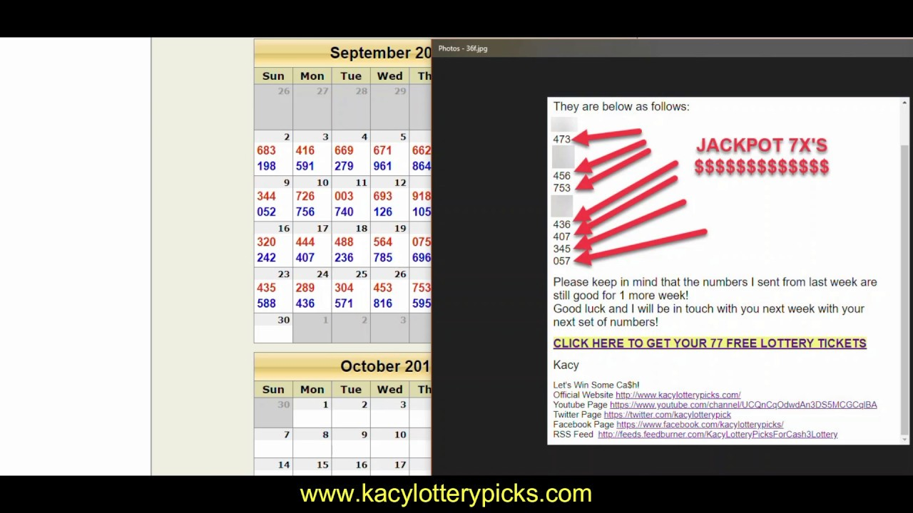 10 HITS WITH PICK 3 LOTTERY PREDICTION WORKOUT STRATEGY GET YOUR NUMBERS  2DAY