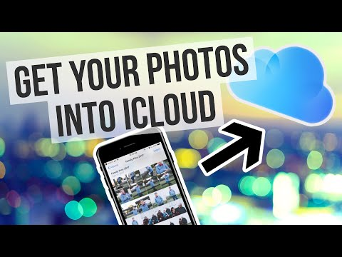 How do i transfer photos to icloud storage