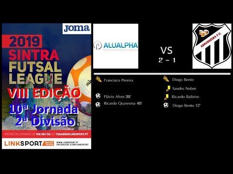 VIII Edição Sintra Futsal League 2ªDiv 10ªJorn Alualpha vs Abrunheira 2 - 1
