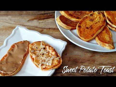 Meal Prep! Sweet Potato Toast