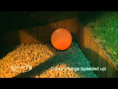 Solar Powered Magic Globe Light by Smart Solar