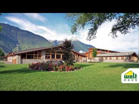 Turismo sostenibile - Agriturismi prefabbricati in legno Wolf Haus