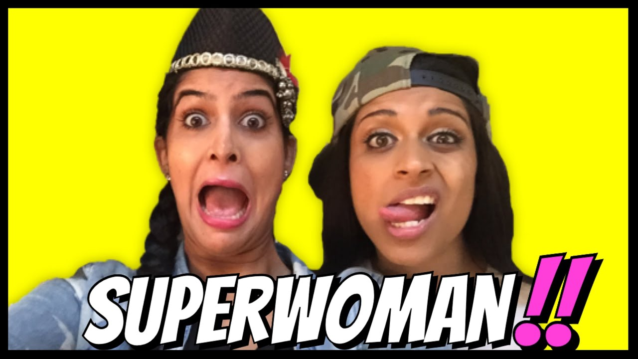 SUPERWOMAN meets RICKSHAWALI !!