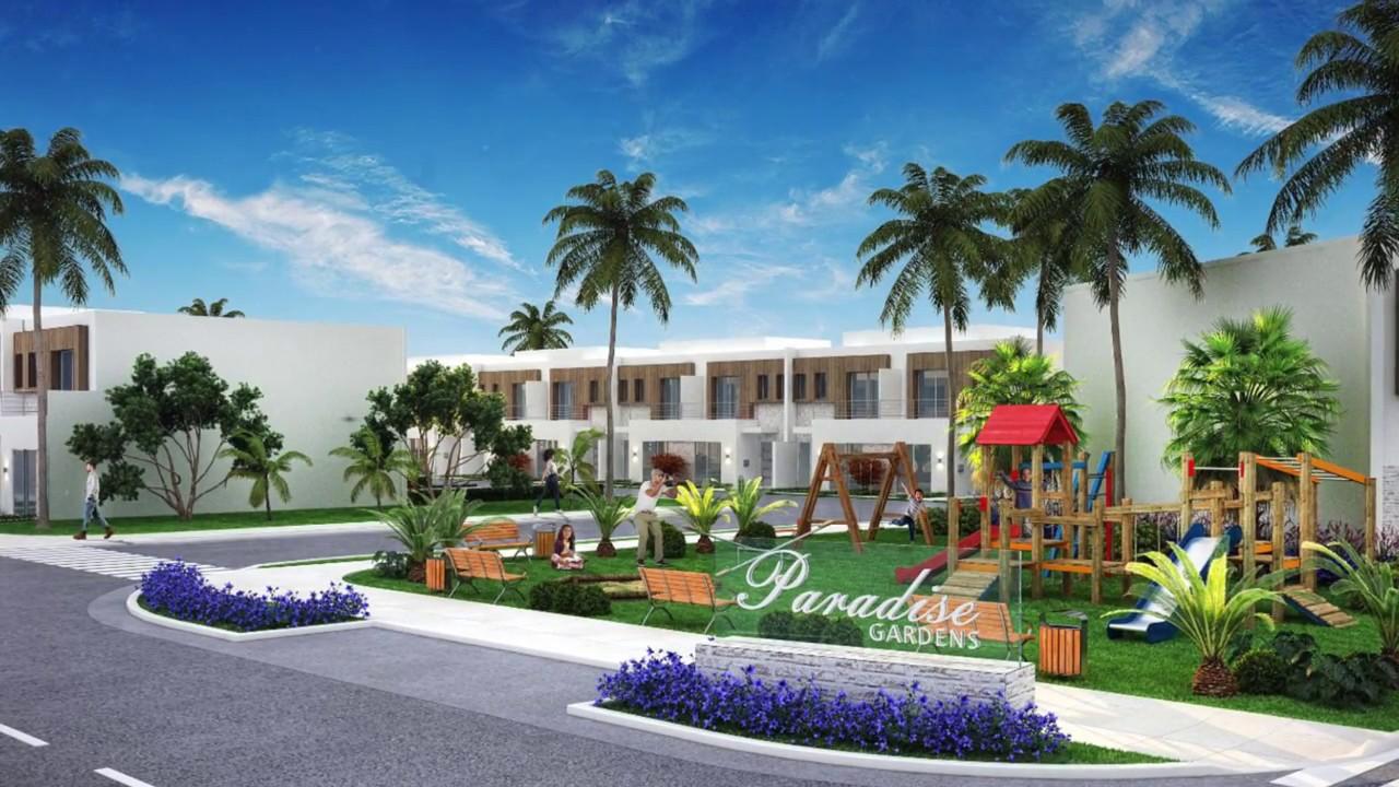 Paradise Gardens Townhouses New Homes Miami Youtube