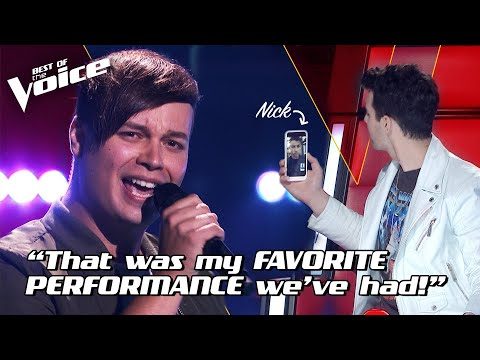 Nathan Brake Sings 'Jealous' By Nick Jonas | The Voice Stage #1