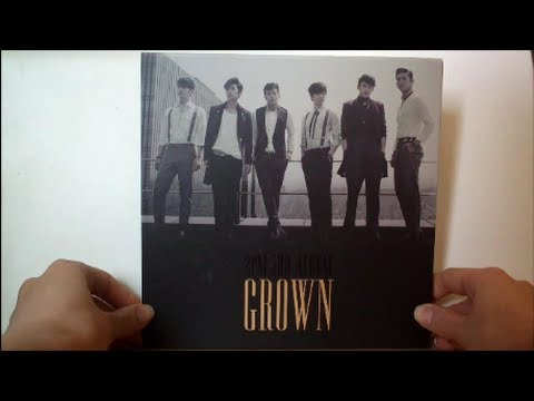 Unboxing 2PM 3rd Album Grown (Version A) [Riddle of the letters solved - see description]