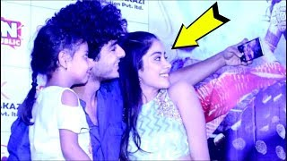 Jhanvi Kapoor's SWEET Gesture Towards A Little FAN At Dhadak Movie Promotion