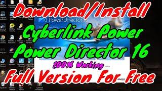 cyberlink powerdirector 16 crack download