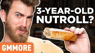 3 Year Old Nut Roll Taste Test