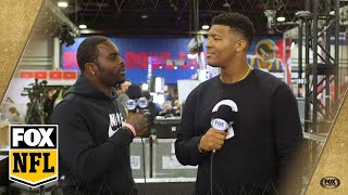 Michael Vick interviews Jameis Winston and welcomes the Bucs QB to Atlanta | FOX NFL