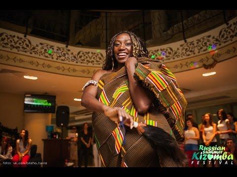Show Thierry Deha & Afro-Duau, Russian Summer Kizomba Fest 2014