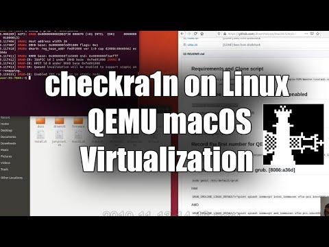 Tutorial checkra1n on Linux via QEMU macOS Virtualization thumbnail